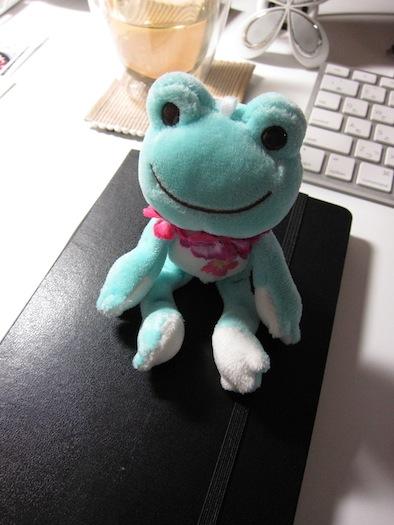 旅モレ:カエルさんと一緒に