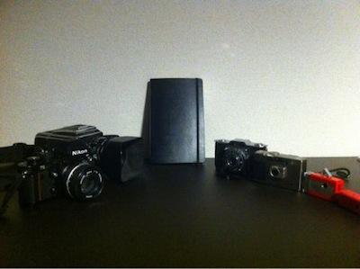モレスキンとカメラ達