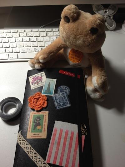 旅するモレスキン:ぽんぽちさん