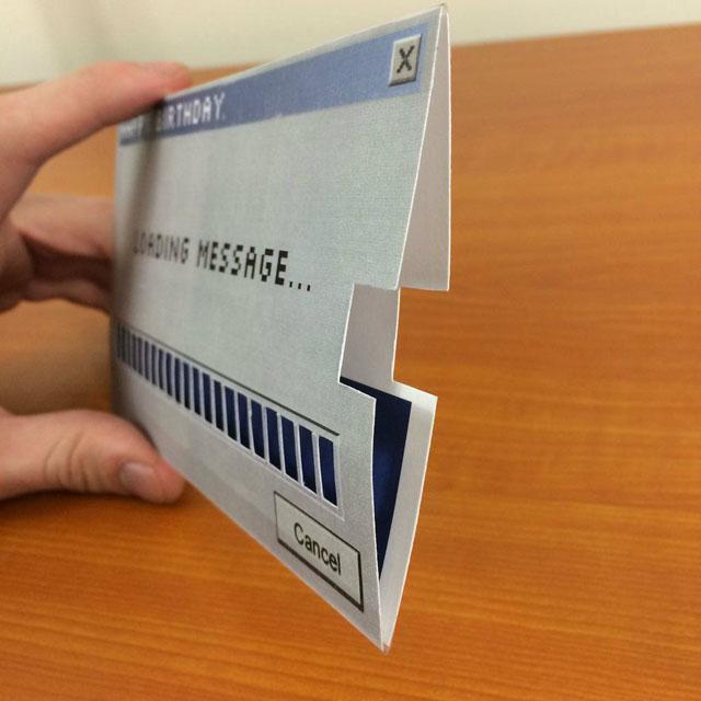Loading メッセージカード